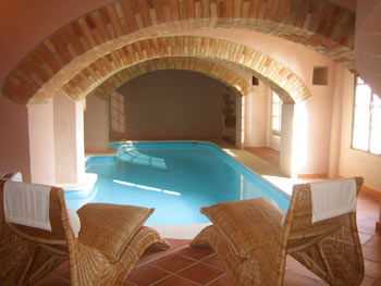 El Turo, indoor heated pool