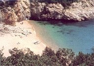 a cala is a cove beach