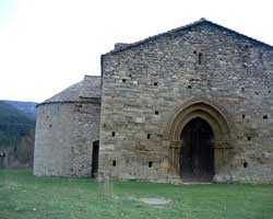 Berga Romanic church