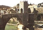 the Medieval village of Besalú
