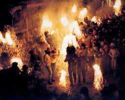 Berga celebrates the summer Solstice on 23 June