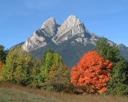 The Pedraforca or Stonefork mountain