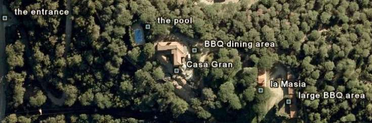 Casa San Juan vu par Google Earth