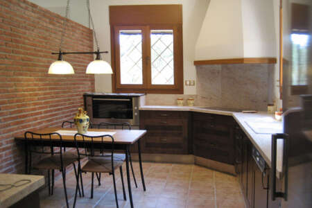 Casa San Juan, part of the kitchen of Casa Gran, with high quality appliances