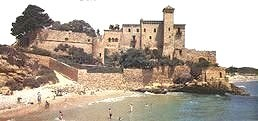 Tamarit castle just up from Tarragona